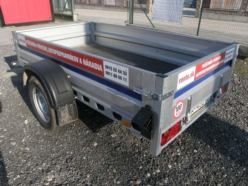 NEW - Prívesný vozík zosilnený na 1,1 tony (2 ks)
