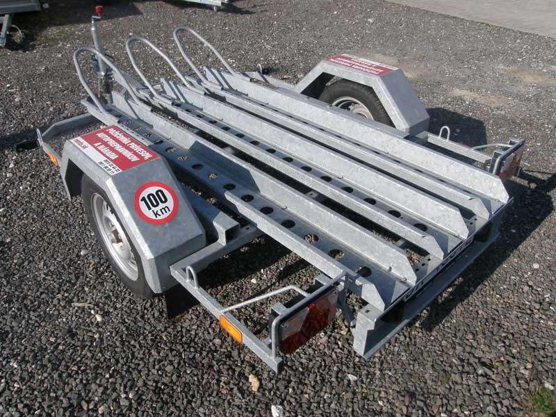 Motoprepravník - vozík na motorky (1 ks)
