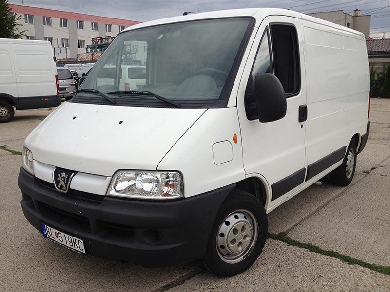 NEW - Peugeot Boxer 2,0HDI - KLÍMA (2 ks)